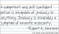Jealousy Quotes : QUOTATION – Image : Quotes Of the day – Description haha, so does this mean I have neurotic insecurity? Sharing is Power – Don't forget to share this quote ! Top Quotes, Couple Quotes, Great Quotes, Bible Quotes, Inspirational Quotes, Make A Quote, Quote Of The Day, Love Words, Beautiful Words