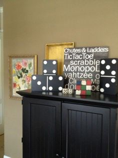 game room – we keep all the board games in the black armoire. game room – we keep all the board games in the black armoire. Game Room Bar, Game Room Decor, Room Setup, Game Room Design, Family Room Design, Board Game Storage, Board Games, Game Boards, Game Room Basement