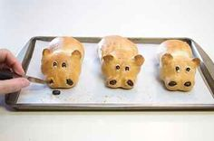 16 Adorables rebanadas de pan con formas de animales