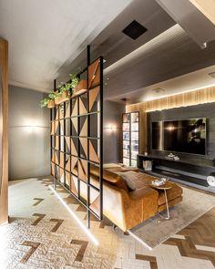 Living Room Partition Design, Room Partition Designs, Living Room Tv Unit Designs, Home Room Design, Home Interior Design, House Design, Mt Design, Drawing Room Interior, Modern Room