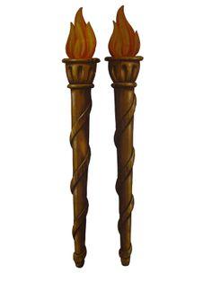 Torch Flat Set 12'x2'