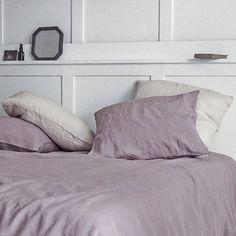 Rowen & Wren Dusty Rose Linen Pillow Cases, Set Of Two | NOTHS.com
