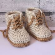 Baby Bow Shoes - Allcrochetpatterns.net