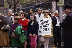 Dynamic demonstrations: In 27 Jan 1968, an anti-Vietnam War march was held in New York