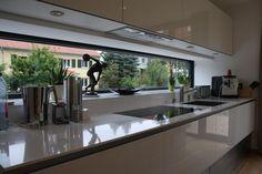 Küche im Erdgeschoss - Einfamilienhaus F (Cool Kitchen)