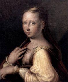Barbara Longhi · Autoritratto come santa Caterina d'Alessandria · 1589 ca · Pinacoteca Comunale · Ravenna