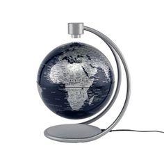 Levitating 8-inch Silver Globe $99.99