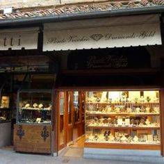 Ponte Vecchio (Florence, Italy)...I swear this store could take down the entire bridge. Love.