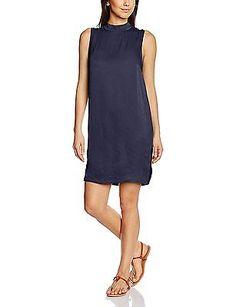 14, Blue - Blau (Blue D. 9224), Saint Tropez Women's N1825 Dress NEW