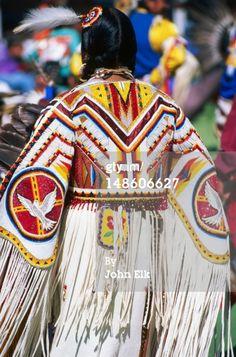 native+American+beaded+dress