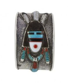 Tufa Cast Kachina Bracelet…..SOLD! #EasyNip