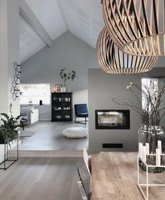 Keep current with the latest small living room decor a few ideas (chic & modern). Discover excellent ways to get elegant design even although you have a tiny living room. Living Room Grey, Home And Living, Living Room Decor, Bedroom Decor, Small Living, Dining Room, Cozy Bedroom, Modern Living, Room Lights