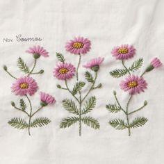 Yumiko Higuchi, Cosmos #embroidery Mais