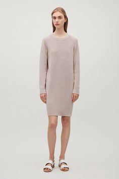 COS | Knitted metallic dress