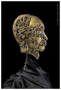 #Ripon -  (2010) 45x37 - made with #copper #brass #bronze #art #sculpture #contemporaryart #metalart #profile