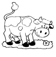 Resultado de imagen para dibujos de vacas para pintar