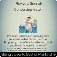 Keep the tap on the lowest setting till it's just a trickle of water when doing wudu. Don't waste water or your wudu won't be accepted. Islam Hadith, Islam Quran, Alhamdulillah, Duaa Islam, Allah Islam, Beautiful Islamic Quotes, Islamic Inspirational Quotes, Islamic Qoutes, Islamic Images