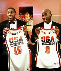Magic Johnson & Michael Jordan