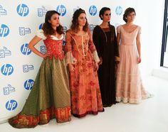 Sara (Collage Vintage) Rebeca (A Trendy Style) Elena (Style in Madrid) y Maribel (El Armario de Pandora) Fashion bloggers: Carnavales de cine con HP.