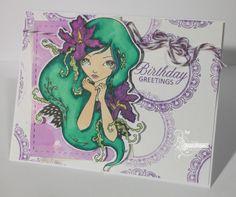 OneCraftyMama Handmade Greetings, Greeting Cards Handmade, Birthday Greetings, I Card, Art, Hand Made Greeting Cards, Birthday Congratulations, Kunst, Happy Birthday Greetings