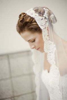 Hairstyles for my veil type