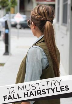 Such cute hairstyles and look easy enough to do!