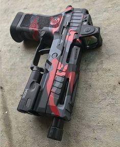 Airsoft Guns, Weapons Guns, Guns And Ammo, Rifles, Weapon Storage, Custom Guns, Military Guns, Cool Guns, Tactical Gear