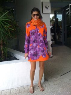 Giovanna Bataglia- Summer Trend: Orange | THE LOOK by ME