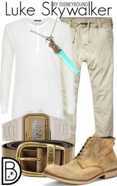 Luke Skywalker by DisneyBound