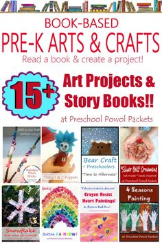 Fun and cute arts and crafts that are based on books! Perfect for preschool and homeschool! Fun Arts And Crafts, Crafts To Make, Crafts For Kids, Rainbow Songs, Bear Crafts, Music Crafts, Preschool Books, Great Hobbies, Book Themes