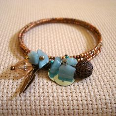 Bracelete de Molas Acqua - Acqua Memory Bracelet | Beat Bijou | Elo7