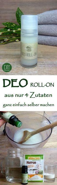 DEO ROLL-ON ganz einfach selber machen, ohne Aluminium und Alkohol Die Anleitung für mein Deo-Spray habe ich euch ja bereits vorgestellt: DEO SPRAY ganz einfach selber machen Ich stelle meine Deodo…