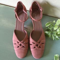 Pink Suede Naturalizer Shoes