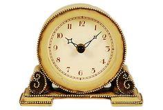 Classic Beaded Table Clock