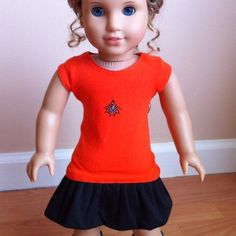 Dolloween! Etsy shout-out for Caeli's Couture!