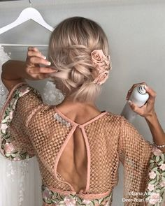 Trends Wedding Hairstyles : Ulyana Aster Long Bridal Hairstyles for Wedding Long Bridal Hair, Short Wedding Hair, Wedding Updo, Best Wedding Hairstyles, Short Hairstyles For Women, Cute Hairstyles, Bridal Hairstyles, Short Haircuts, Very Short Hair