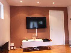 Få inspirasjon fra 10 hjem malt i Jotun Rustikk Terracotta Malta, Flat Screen, Home, Terracotta, Blood Plasma, Malt Beer, Ad Home, Flatscreen, Homes