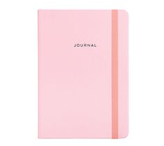 Make all your notes in pretty pink style with this A5 Bonded Leather Notebook #stationery #love #pink #kikkiK