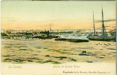Puerto. Muelle de Linares Rivas