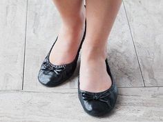 Sidekicks' foldable ballet flats, discovered by The Grommet, easily slip on whenever your feet need a break from high heels or uncomfortable footwear.