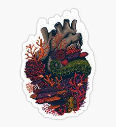 heart of the sea Sticker
