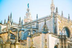 La Cathédrale Notre-Dame du Siège de Séville Barcelona Cathedral, Week End, Building, Travel, Andalusia, Spain, Viajes, Buildings, Destinations