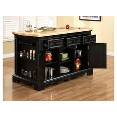 Found it at Wayfair - Hofmeister Kitchen Island with Granite Top