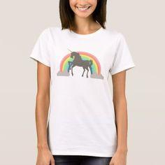 Believe In Magic /& Yourself Unicorn With Wand Kids Girls T-Shirt