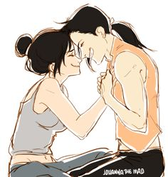 spitting out the demons --- YAAASSSSS LING AND LAN FAN, MY OTP!!!!!!!