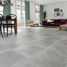 wall tiles in gray and stone look Monastery x cm Strong floor and wall tiles in gray and stone look Monastery x cm Living Room Tiles, Grey Flooring, Tile Floor, New Homes, Room Tiles, Flooring, Hall Tiles, Grey Tiles Living Room, Grey Floor Tiles