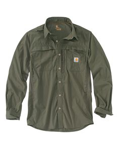 Carhartt Men's Mandan Moss Long Sleeve Shirt - Western Shirts - Men's