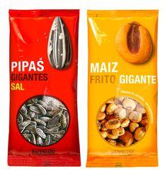 Product Packaging Design Frutos Secos Hacendado Package Design Examples Pictures Frutos Secos Hacendado Designed by Lavernia & Cienfuegos