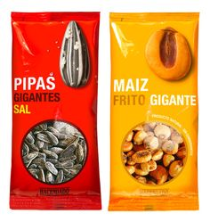 Product Packaging Design Frutos Secos Hacendado Package Design Examples Pictures Frutos Secos Hacendado Designed by Lavernia & Cienfuegos