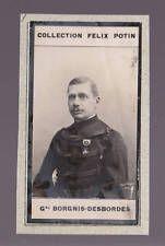 GUSTAVE BORGNIS-DESBORDES France 1908 FELIX POTIN CARD